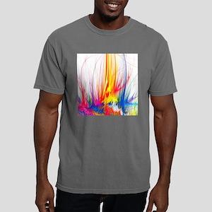 Paint Splatter Mens Comfort Colors Shirt