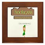 Hooligans Pub - No Shenanigans Framed Tile