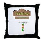 Hooligans Pub - No Shenanigans Throw Pillow