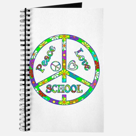 Peace Love School Journal