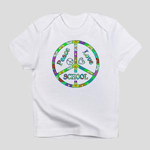 Peace Love School Infant T-Shirt