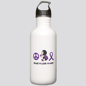 Ladybug Peace Love Hope Stainless Water Bottle 1.0