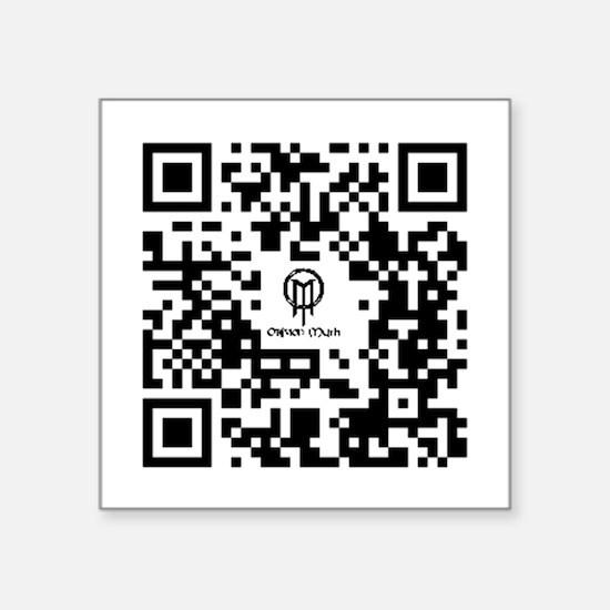 Sticker - QR Code for OblivionMyth.com