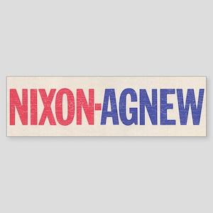 Nixon Agnew Bumper Sticker