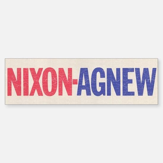 Nixon Agnew Bumper Stickers