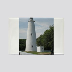 Ocracoke, North Carolina Lighthouse Rectangle Magn