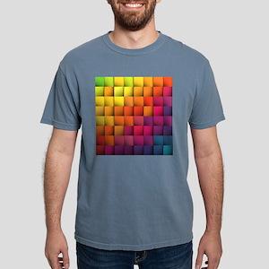 Colorblock Mens Comfort Colors Shirt