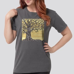 Tree Art Womens Comfort Colors Shirt