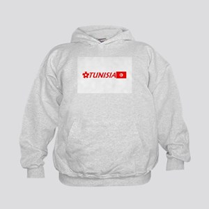Tunisia Soccer Products Kids Hoodie