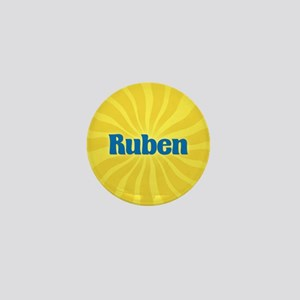 Ruben Sunburst Mini Button