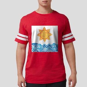 Sun and Sea Mens Football Shirt