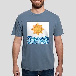 Sun and Sea Mens Comfort Colors Shirt
