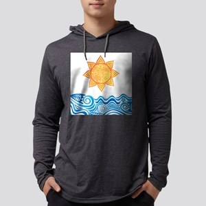 Sun and Sea Mens Hooded Shirt