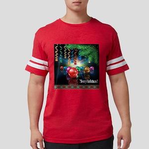 Merry Christmas Mens Football Shirt
