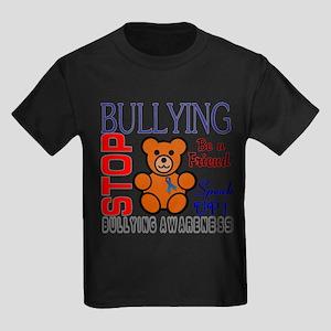 Bullying Awareness Kids Dark T-Shirt