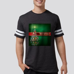 Merry Christmas Mens Football Shirt