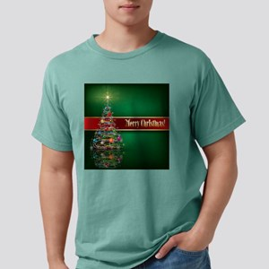 Merry Christmas Mens Comfort Colors Shirt