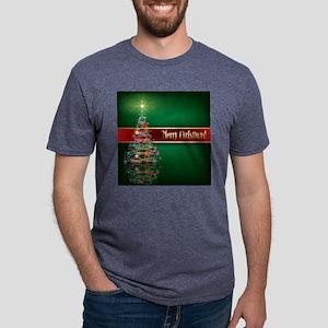 Merry Christmas Mens Tri-blend T-Shirt