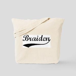 Vintage: Braiden Tote Bag