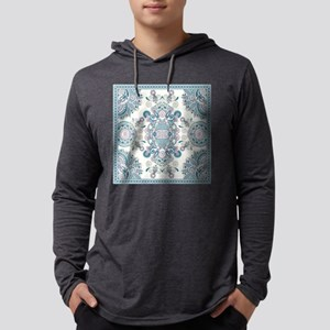 Traditional Pattern Mens Hooded Shirt