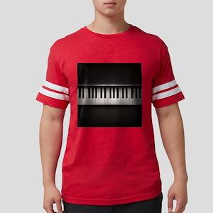 Piano Mens Football Shirt