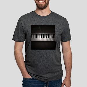 Piano Mens Tri-blend T-Shirt