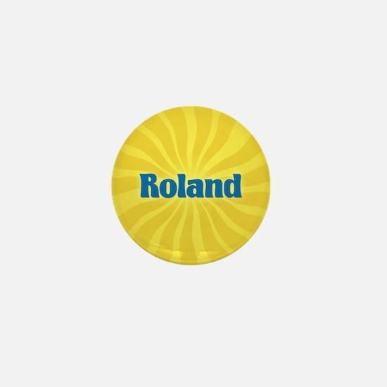 Roland Sunburst Mini Button