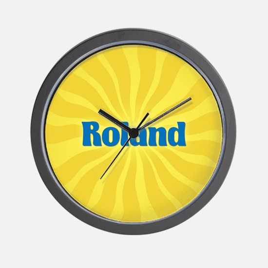 Roland Sunburst Wall Clock