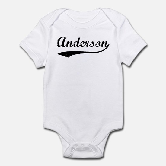 Vintage: Anderson Infant Bodysuit