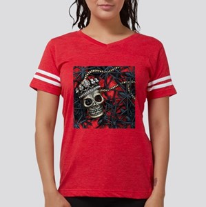 Skull and Spiders Womens Football Shirt