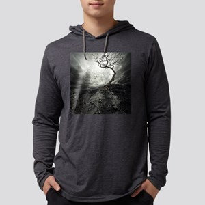 Dark Tree Mens Hooded Shirt
