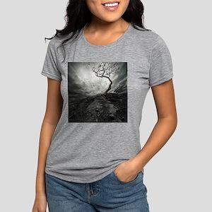 Dark Tree Womens Tri-blend T-Shirt