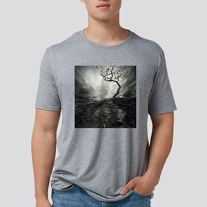 Dark Tree Mens Tri-blend T-Shirt