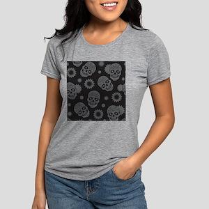 Sugar Skulls Womens Tri-blend T-Shirt