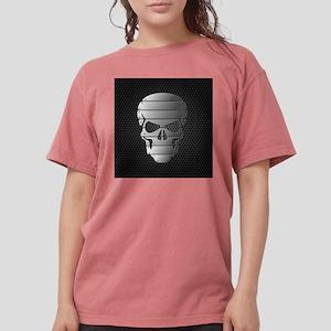 Chrome Skull Womens Comfort Colors Shirt
