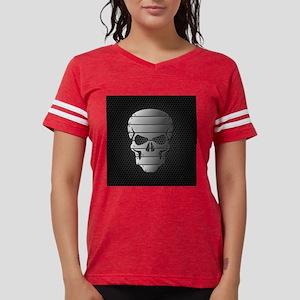 Chrome Skull Womens Football Shirt