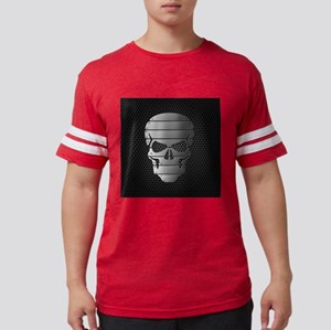 Chrome Skull Mens Football Shirt