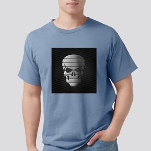 Chrome Skull Mens Comfort Colors Shirt