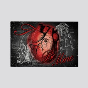 Gothic Love Be Mine Rectangle Magnet