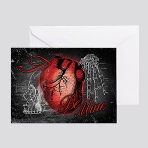 Gothic Love Be Mine Greeting Card