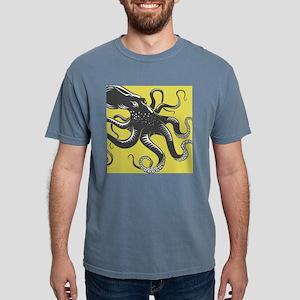 Octopus Mens Comfort Colors Shirt