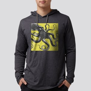 Octopus Mens Hooded Shirt