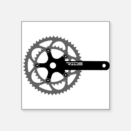 """ride.png Square Sticker 3"""" x 3"""""""