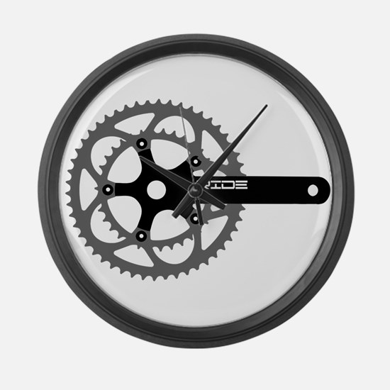ride.png Large Wall Clock