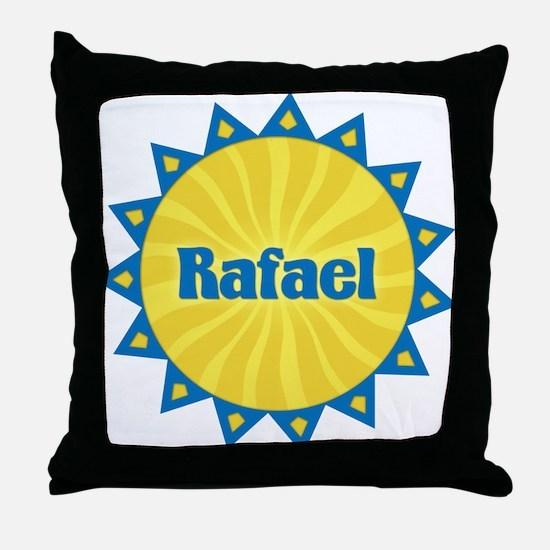 Rafael Sunburst Throw Pillow