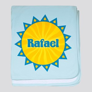 Rafael Sunburst baby blanket