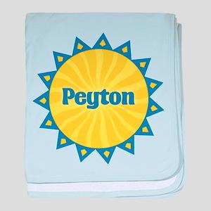Peyton Sunburst baby blanket