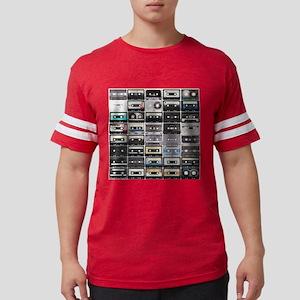 Cassette Tapes Mens Football Shirt