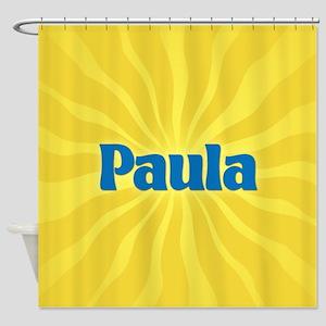 Paula Sunburst Shower Curtain