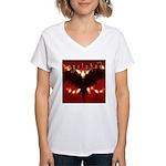 reverb store.jpg Women's V-Neck T-Shirt